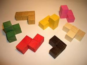 Pieces of a Soma Cube