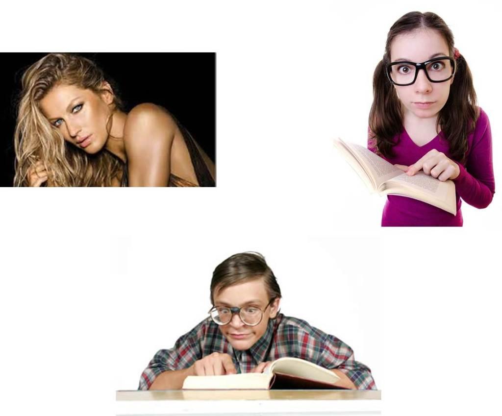 nerd supermodel